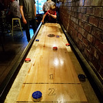 Shuffleboard at Lucky Fool's
